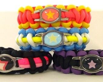 Steven Universe Paracord Bracelets