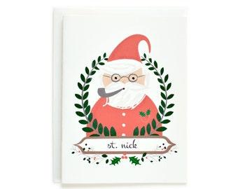 Santa Baby Christmas Card