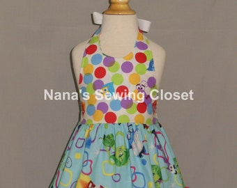 Inside Out Dress / Ready to ship  size 2t