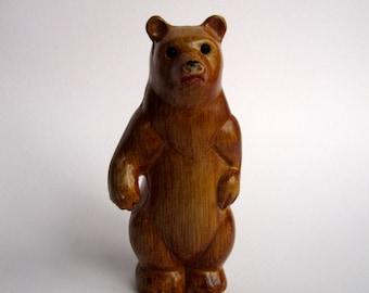 1970s plastic moulded bear
