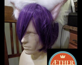 Discontinued: White Cat Ears