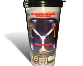 Back to the Future Flux Capacitor Reusable Travel Mug