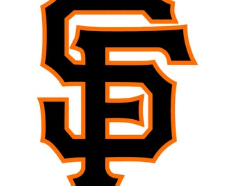 San Francisco Giants Decal Sticker 2 Color