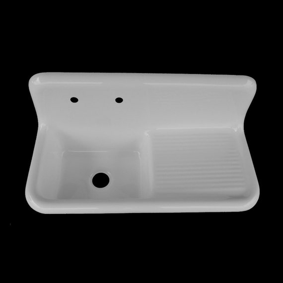 42 X 20 Single Bowl Right Drainboard Farmhouse
