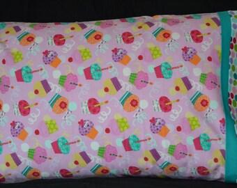 Birthday Cupcakes Pillowcase
