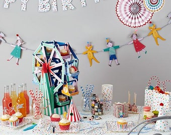 SPOTTY PARTY! (cymbals-glasses-napkins-toppers for birthday parties/...)