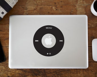 iPod Wheel MacBook Decal
