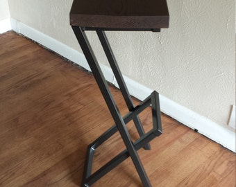 "30"" tall stool, modern bar stool,  counter stool, barstool, cool bar stool, metal bar stool, steel bar stool, kitchen stool, metal barstool."