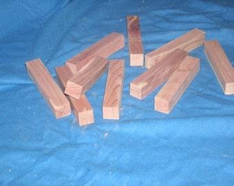 Aromatic red cedar air freshener sticks set of 10