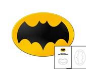 Template for 1966 Batman Chest Emblem