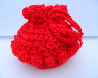Small Gift Bag in Red