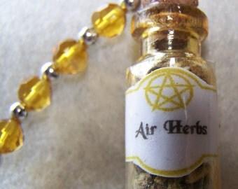 Mini Herbal Elemenal Hanging Bottles