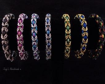 Custom Byzantine Bracelet