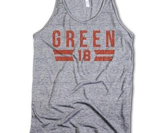 A.J. Green Officially Licensed NFLPA Cincinnati Male Tank Top S-XL A.J. Green Font O