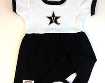 Vanderbilt Commodores Baby Bodysuit Dress