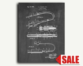 Patent Print - Balloon Catheter Patent Wall Art Poster