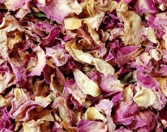Dried Rose Petals | Organic Botanicals | Rosa spp.
