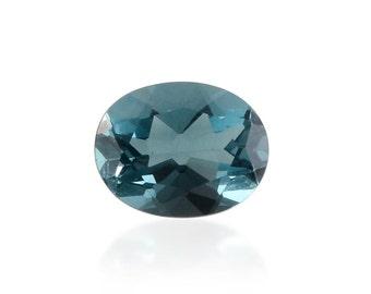 Blue Fluorite Oval Cut Loose Gemstone 1A Quality 9x7mm TGW 1.90 cts.