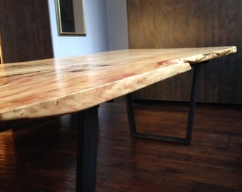 Custom live edge dining tables