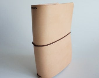 5-6 oz Undyed Leather journal covers