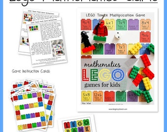 Lego Math Game
