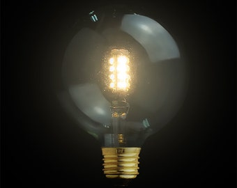 Medium/ Large E27 LED Edison Globe Squirrel-Cage Light Bulb 110V-220V 5W - modern lamp - modern lighting - ampoule edison bulb - light bulb