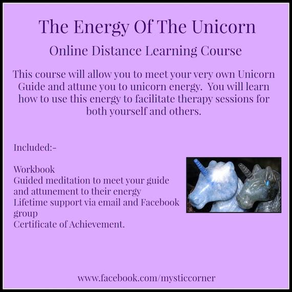 Energy Of The Unicorn Online Distance By Nikkismysticcorner