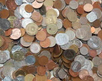 Mixed World Coins Currency-Various