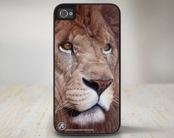"Lion iPhone 5 Case, Lion iPhone 5s Case, Lion iPhone Case Protective Phone Case ""Uncommon Valor"" 50-8324"