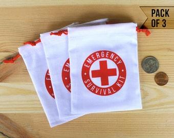 Wedding Emergency Kit - Wedding Emergency Kit Bag - Wedding Survival Kit - Wedding Survival Kit Bag - Pack of 3