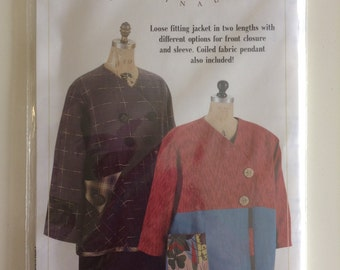Indigo Junction Misses' Jackets - Anna Clair Originals - New, Unused, Uncut, Factory Folded Pattern