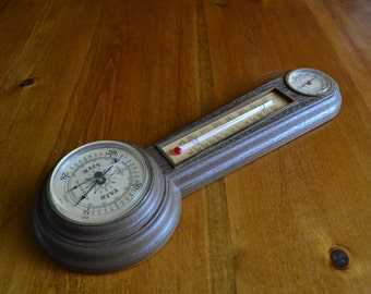 Smaller Sized Vintage Springfield Air Weather Station