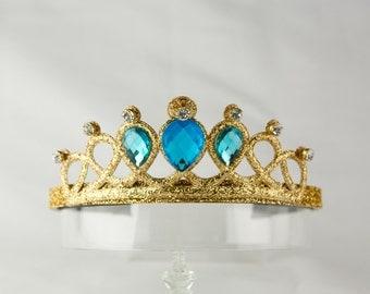 Cinderella Headband, Birthday Crown Headband for Kids Girl, Headband for Kids, Photo Prop Headband, Princess Headband - Gold