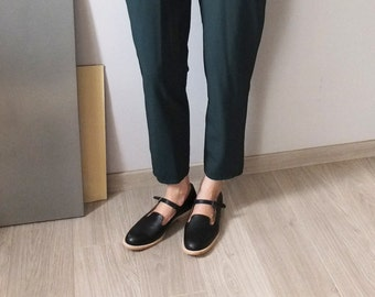 Handmade to order - Mary Jane slip-on loafers