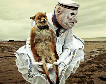surrealistic artwork/postcard no.  M11