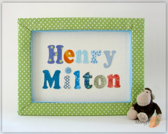 Baby Boy Gifts With Name : New baby boy gift personalized kids wall art nursery name