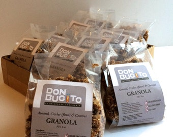 Almond, Cricket (FLOUR) & Coconut Granola