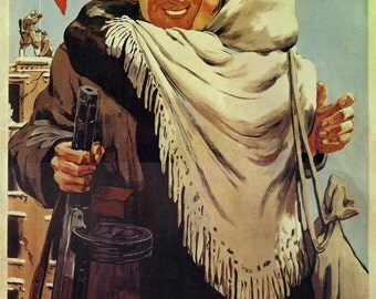 "WW2 Russian Soviet Army Victory ""You brought the life"" nice poster"