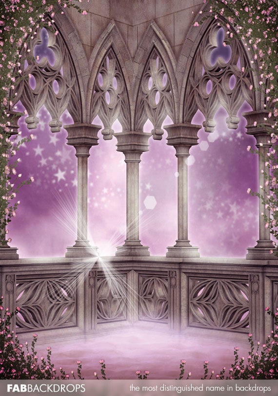 Enchanted Castle Backdrop / Princess Background FD5098