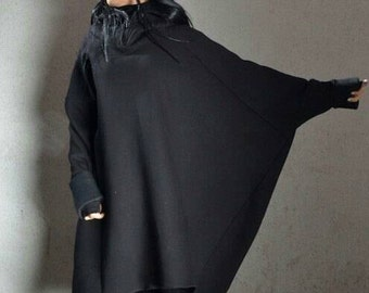 Loose plus size top, oversized boho top, plus size boho tunic, tunic plus size boho, plus size top loose, plus size tunic, sweatshirt dress