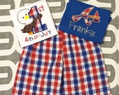 Boys' shirt/short set **only 1 shirt included