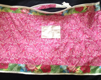 Daycrare/ Nursing Covers-  The Pink Flower Jungle