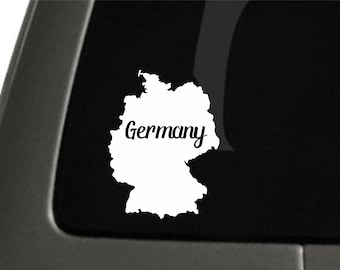 Germany Sticker For Car Window, Bumper, Or Laptop