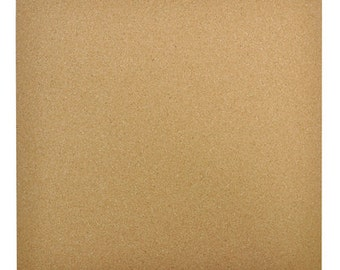 """12 x 12 """" cork sheets for scrapbooking and craft projects."""