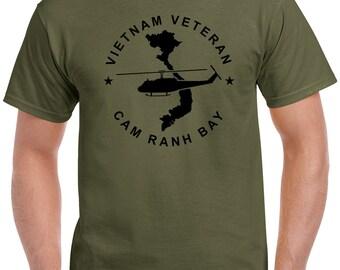 Vietnam Veteran T-Shirt - Cam Ranh Bay