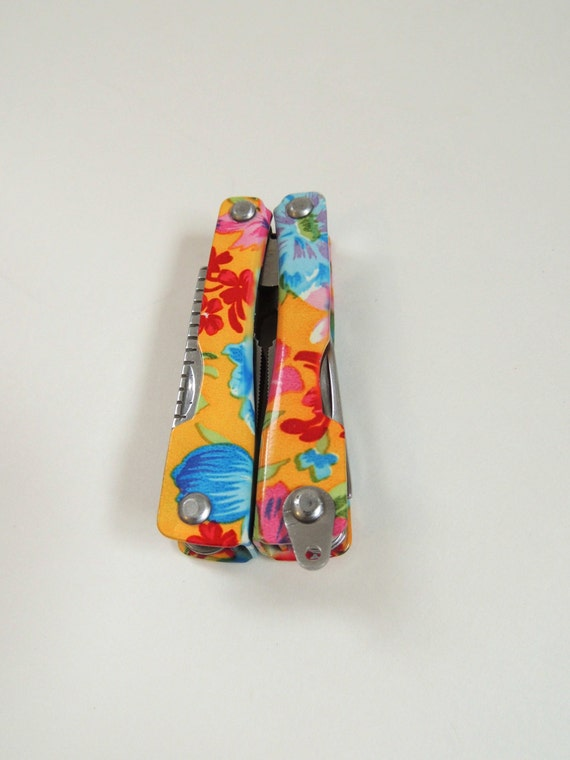 Womens Sewing Pocket Tool Swiss Army Knife Floral Pocket Knife