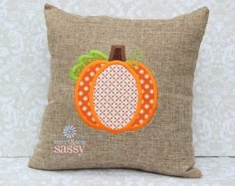 Fall Pumpkin Pillow CASE - Autumn - Halloween - Thanksgiving