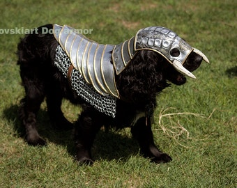 Fantasy Dog Knight Armor Aluminum suit