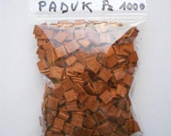 Tiles for mosaic (paduk or padouk)