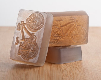 Men's Bicycle Glycerin Soap, Vegan Soap, Men's Soap,Men's Soap, Bar Soap